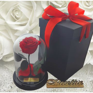 Розы S с коробкой и гравировкой