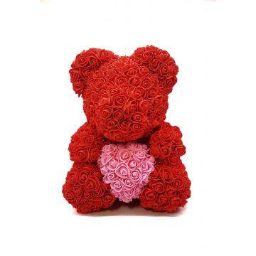 Мишка с сердцем Red